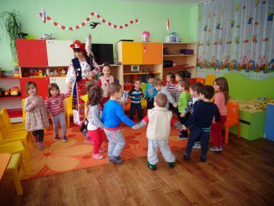 Посрещане на Баба Марта - ДГ №152 Люляче - София, Люлин 1