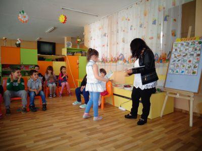 Занимание по английски език - ДГ №152 Люляче - София, Люлин 1